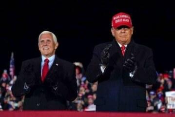 Трамп запланировал произнести «победную» речь в Джорджии