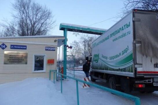 Компания «Эвалар» передала партию антисептиков домам престарелых