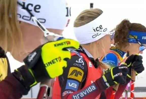 Штрафные круги украли медаль биатлонистки Мироновой