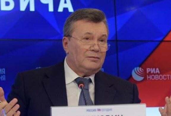 Янукович назвал виновных в ситуации с Крымом и Донбассом