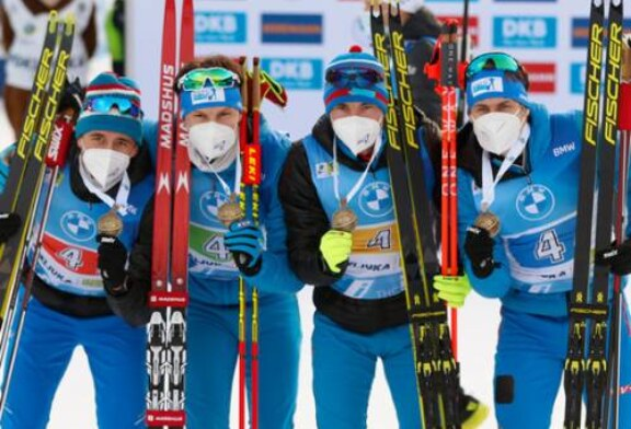 От Халили до Латыпова: мужская команда в эстафете вырвала медаль престижа