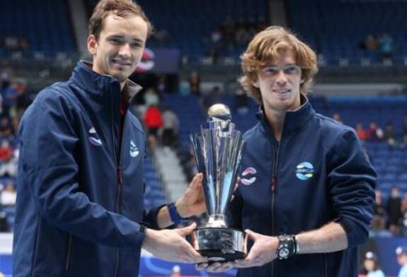 «Безжалостная» Россия победила под флагом: теннисисты выиграли ATP Cup