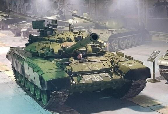 В Индии попала на камеру редчайшая модификация танка Т-90С