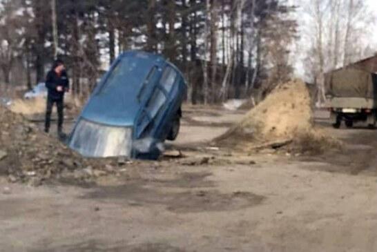 В российских регионах дороги сошли вместе со снегом