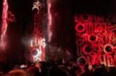 Художник Покрас Лампас напугал нижегородцев: «поджег» деревянный дом лазером
